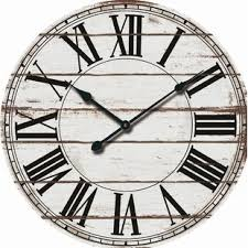 office large size floor clocks wayfair. Oversized Rustic Wood 24\ Office Large Size Floor Clocks Wayfair