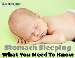 Heres What You Need To Know About Baby Sleeping On Her Stomach
