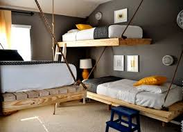 Cool Wall Mounted Bunk Beds Designs