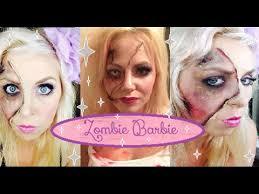 zombie barbie prom queen beauty queen makeup tutorial series look 2