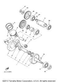 2000 yamaha blaster yfs200m oem parts babbitts yamaha partshouse crankshaft piston