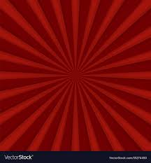 Radial Red Red Comics Radial Speed Lines Graphic Effects Vector Image