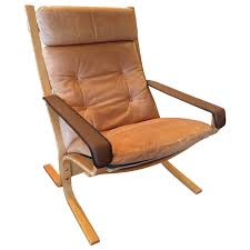 high back leather chairs. Ingmar Relling High Back Leather Siesta Chair Chairs