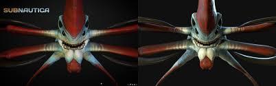sea emperor size reaper leviathan receiving a new far higher detail model subnautica