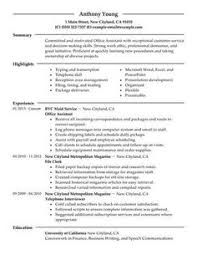 Administrator Resume Examples Summary On Resume Examples Resume Examples Resume Examples