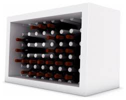 Bachus Bottle Rack Modern Wine Racks Made In Design Modern Wine Rack