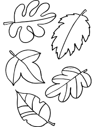 Kleurplaat Herfst Blaadjes Bladeren Kleurplatennl Thema