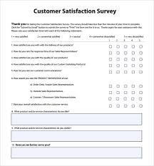 Customer Service Survey Template Free Sample Customer Satisfaction Survey 14 Documents In Pdf Word