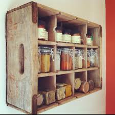wood rack is the perfect storage solution for your kitchen. It provides  plenty of space to keep cooking spices organized and easily accessible