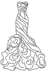Small Picture Wedding Dress Coloring Pages Kids embroidery Pinterest