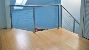bamboo flooring in loft