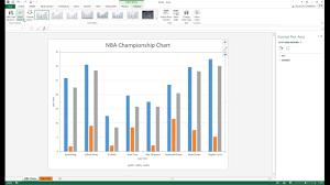 Cylinder Chart In Excel 2013 Excel 2016 Clustered Cylinder Chart