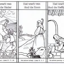 Kleurplaat Catechismus Zondag9 Schepping Bijbels Opvoedennl