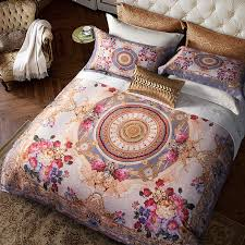 luxury bedding sets queen. Perfect Sets Egyptian Cotton Bohemia Style Luxury Bedding Set Queen King Size Boho Duvet  Cover Silky Bed Sheet Bedclothes Linen Throughout Sets S