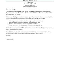 New Graduate Registered Nurse Cover Letter New Cover Letter