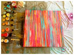 enticing diy herringbone canvas art as wells as homemade wall art on plus tree paintings