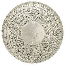 exclusive 23 metal wall round shape decor off white regarding silver wall art intended on silver metal wall art australia with exclusive 23 metal wall round shape decor off white regarding