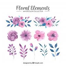 ✓ free for commercial use ✓ high quality images. Free Floral Elements Collection In Watercolor Style Svg Dxf Eps Png 1976 Best Crafts Svg Images In 2019 Silhouette Projects Cricut