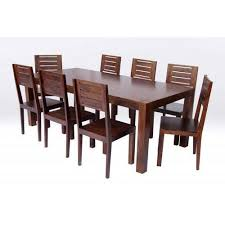 perfect dining tables and 8 chairs luxury wooden brown 8 seater dining table rs 7000 set