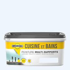 Peinture Cuisine Et Salle De Bain Bricorama Blanc Coton 2l