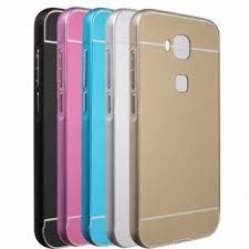 Ultra Thin Luxury Metal Frame + Acrylic Back Cover Case For ...