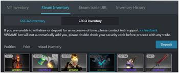 deposit withdraw guide vpgame world s no 1 esports service