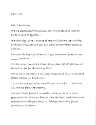Sample Letter Of Intent To Lease Template Examples