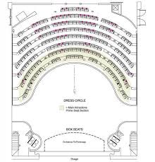 The Shell Wilmington Seating Chart Seating Chart Thalian Hall Center For The Performing Arts
