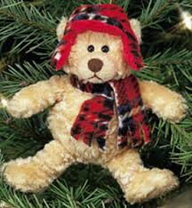 Click here to go to our selection of Gund Teddy Bear Christmas Ornaments