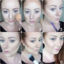take your loose powder and pat it onto the areas you ve added concealer where you d like to seal and highlight your makeup if you have darker skin than me