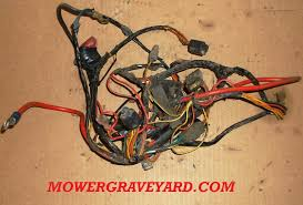 wiring harness , lawn mower grave yard equipment used tractor tractor wiring harness at Universal Wiring Harness Ford Garden Tractor