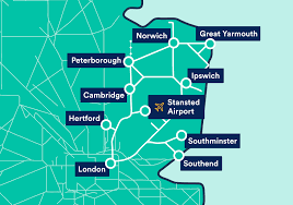 greater anglia train tickets routes
