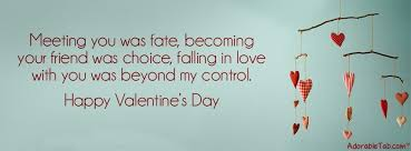 Cute Valentines Quotes Magnificent Valentine's Day Images AdorableTab