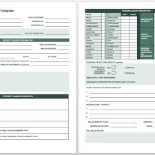 Free Incident Report Templates Smartsheet In Field Service Report ...