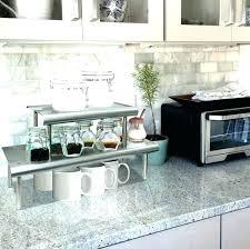 kitchen counter organizer island small countertop desk