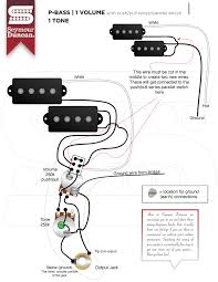 wiring diagrams seymour duncan part 10 p bass 1 volume push pull series parallel 1 tone