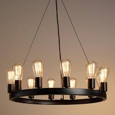 furniture glamorous round cage chandelier 15 extraordinary 17 edison bulb pendant light fixture lighting single style