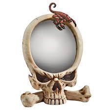 Design Toscano Mirror Design Toscano Sting Of The Scorpion Skull Wall Mirror