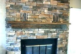 stacked rock fireplace images stacked stone fireplace install with black mantle facing