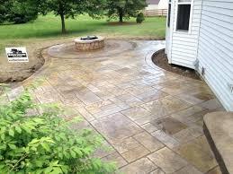 best stamped concrete patio ideas pictures concept