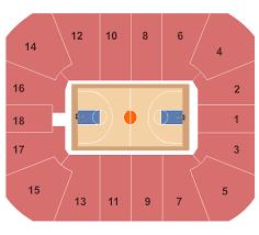 Cassell Coliseum Seating Chart Blacksburg