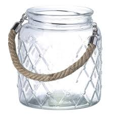 parlane hurricane lantern with rope handle homeware thehut com