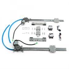 2 door flat power window kit billet power cranks autoloc com