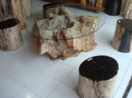 innovative wood stump coffee table creative tree stump coffee table