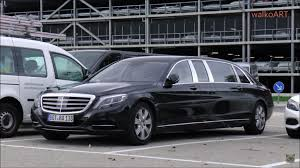 2018 maybach pullman. brilliant pullman video shows mercedesmaybach s600 pullman test vehicle in germany on 2018 maybach pullman