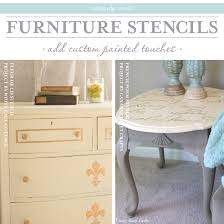 cutting edge furniture. cutting edge stencils shares diy stenciled furniture ideas httpwwwcuttingedgestencils