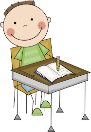 school desk clipart. kid at desk clipart. school clipart
