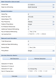 paycheck taxes calculator 2015 symmetry softwares paycheckcity announces online payroll