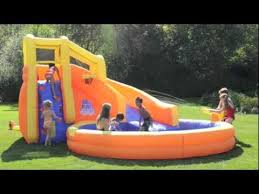 Backyard Inflatable Flat Water Slide For AdultFunny Water Game Water Slides Backyard