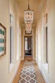 Narrow Hallway Rug And Beautiful Lights Hallway Synonym